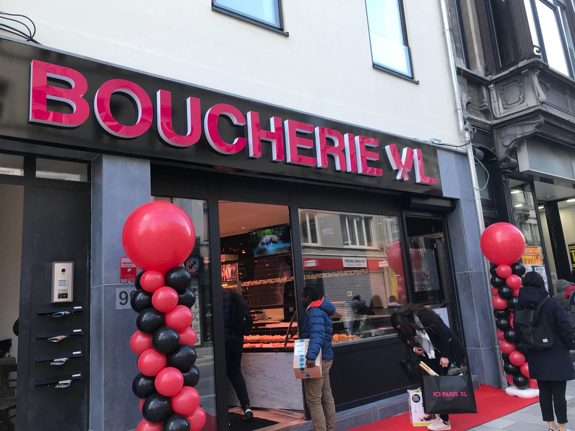 Jour d'ouverture de Boucherie XL